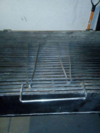Професионална скара на дървени въглища