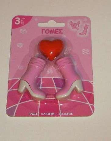 Цветни гумички за момиче тип Барби / Barbie