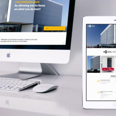 Creare Site prezentare / Branding - Design web & Programare web