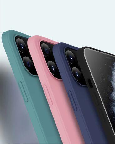 iPhone 12 12 MINI 12 PRO 12 PRO MAX - Husa Silicon cu Catifea Interior