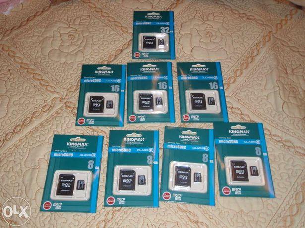 Carduri de memorie pentru telefoane, tablete, etc