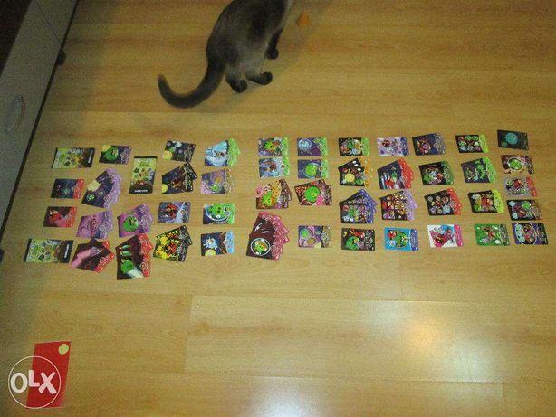 Cartonase pentru catalog Angry Birds Space Trading Cards