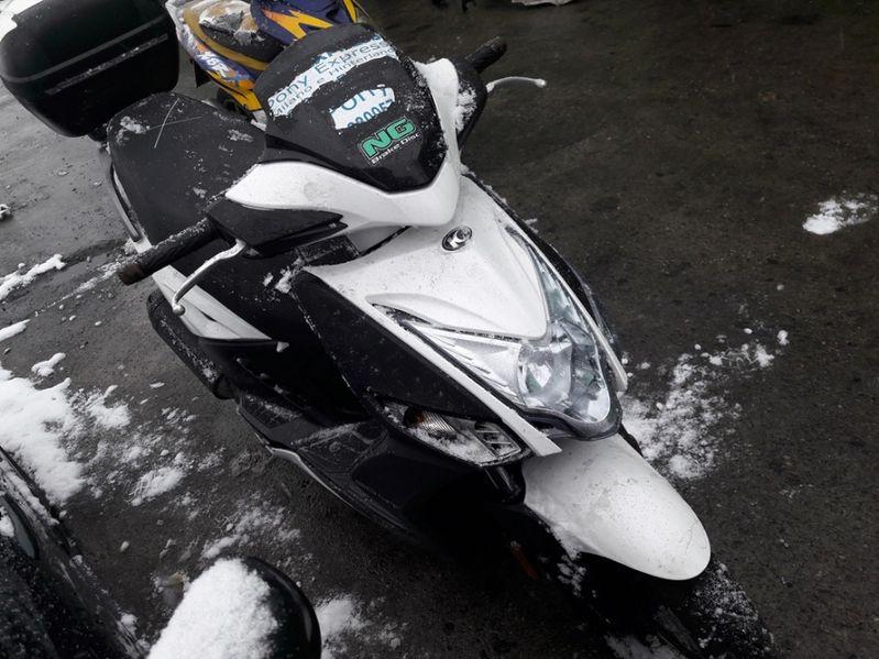 Мотоциклет,скутер Кимко Аджилити16+50iсс(125,150Kymco Agility) на част гр. Пловдив - image 1