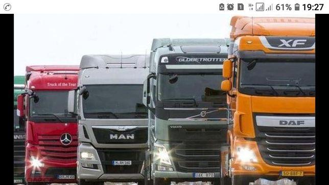 Сто грузовых автомобилей