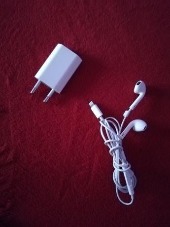Încărcător și căști IPhone 7