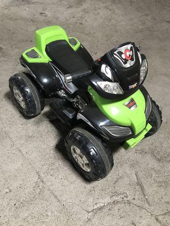 Vehicul TOYZ Electric Quad Cuatro 6 V, Green