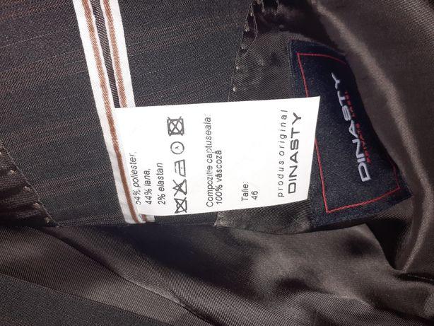 Costum Dinasty/talia 46/ lana fina/ clasic/ pret de achizitie2200