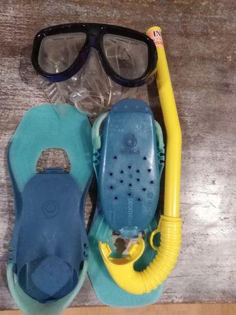 Плавници очила и шнорхел