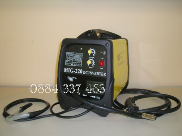 Инверторно телоподаващо MIG/CO2 220 A