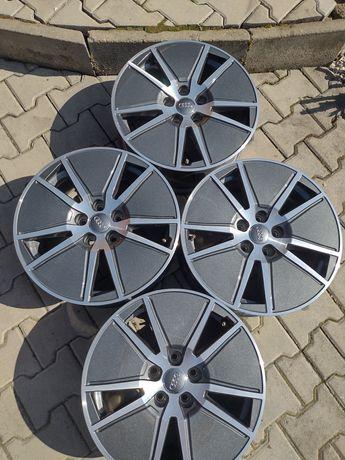 4 jante aliaj 5x112 R17 originale Audi A4 b9 noi A6,A3,