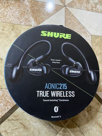 Shure AONIC 215 True Wireless Sound Isolating Earbuds,