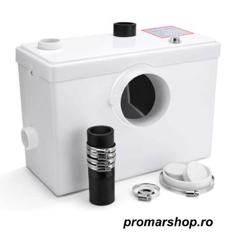 Pompa cu tocator wc H100 Macerator Pompa de deseuri wc