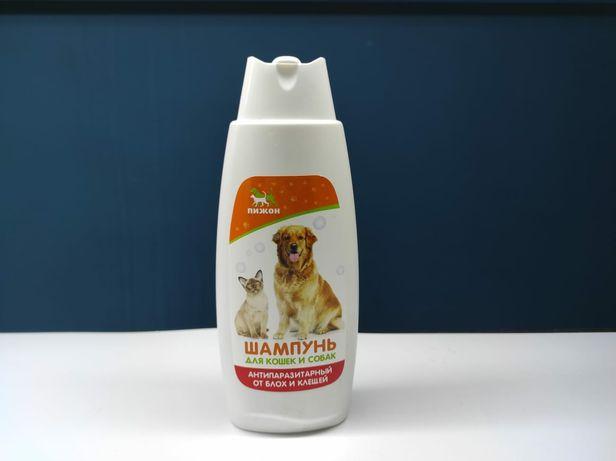 Шампунь пижон для собак и кошек , от парпзитов
