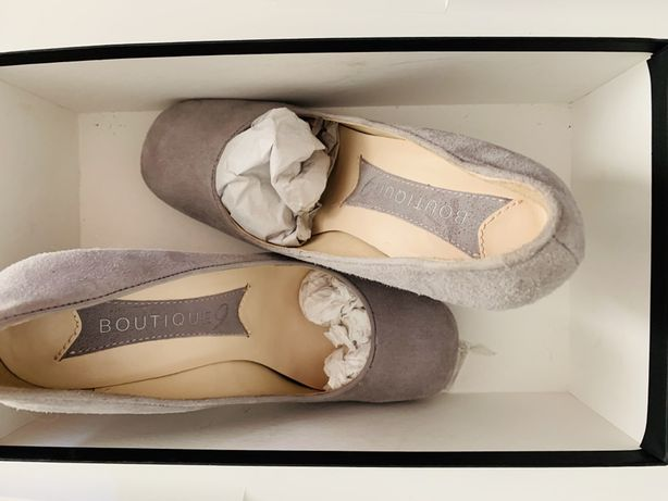Pantofi dama din piele intoarsa
