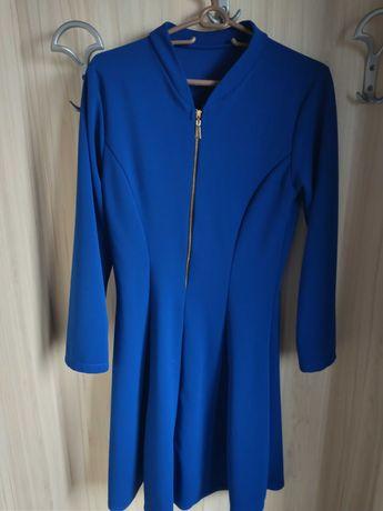 Красива рокля в синьо