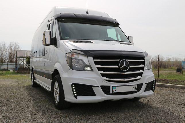 Mercedes Sprinter на заказ! Пассажирские перевозки, мероприятия!