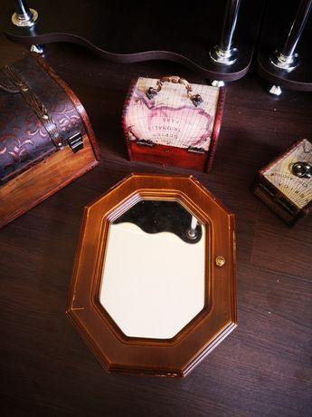 Vabd cutie/caseta suport bijuterii din lemn modele deosebite retro!