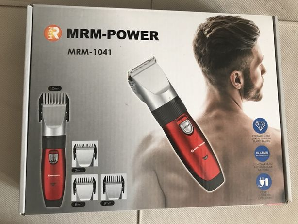Новая машинка для стрижки волос 4 насадки