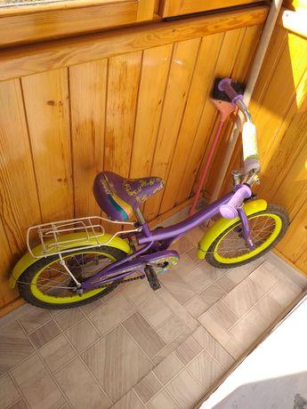 Продам велосипед от 4 до 8 лет
