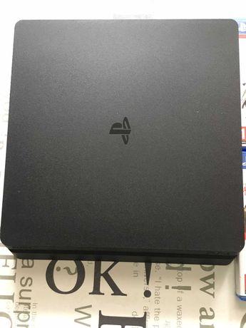 PS4 slim + 6 jocuri