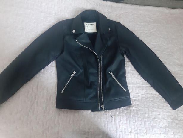 Кожаная куртка lc waikiki косуха кожанка коженка, куртка