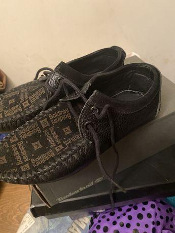Кожаные туфли для мальчиков.