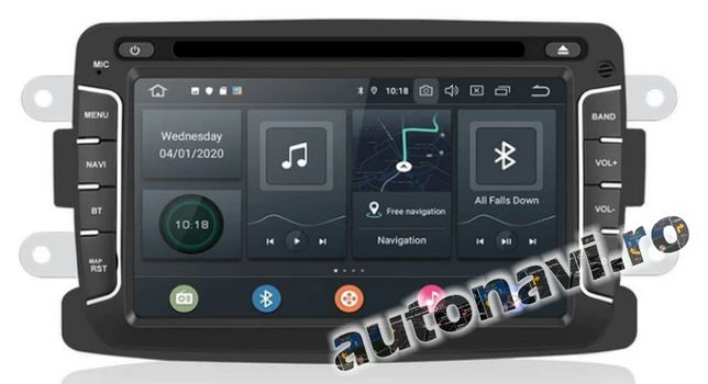 Gps Multimedia Dacia Renault Android 10 4+64Gb