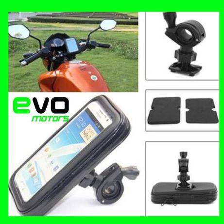 Suport Telefon Ghidon Moto Waterproof Bicicleta Atv Celular A199