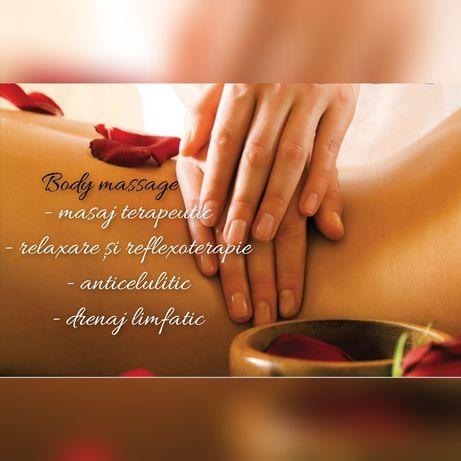 Masaj terapeutic, relaxare, reflexoterapie