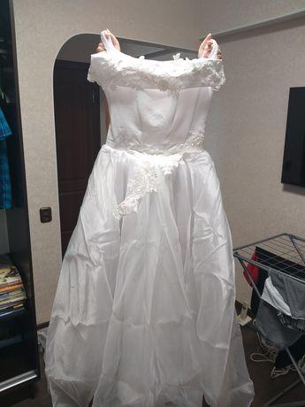 Свадебное платье даром