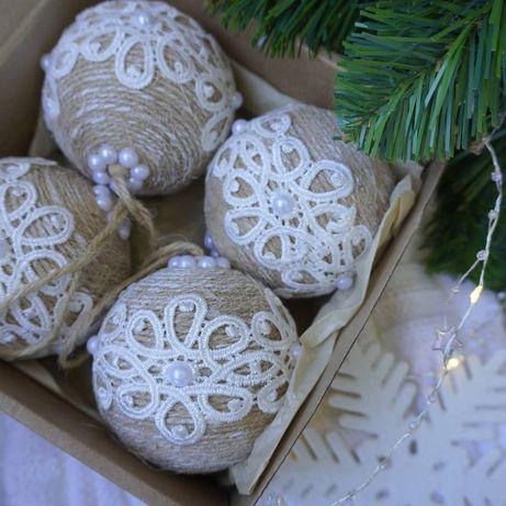 Новогодние шарики. Елочные украшения