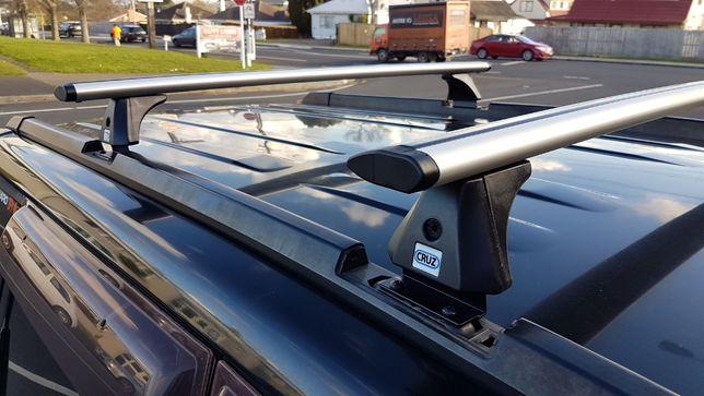 Bare portbagaj CRUZ Aluminiu Ford Mondeo 4 IV MK5 2014-> + Antifurt