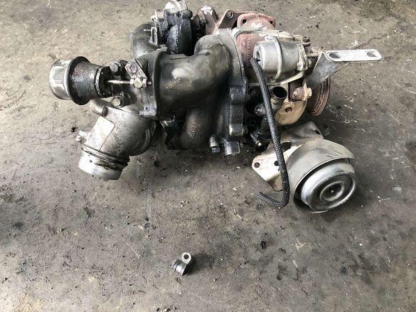 Турбини БМВ 3.5д, 286кс (turbo BMW3.5d, 286hp)