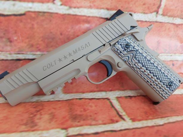 Colt 1911 Editie Limitata Full Metal recul puternic CO2 6mm airsoft