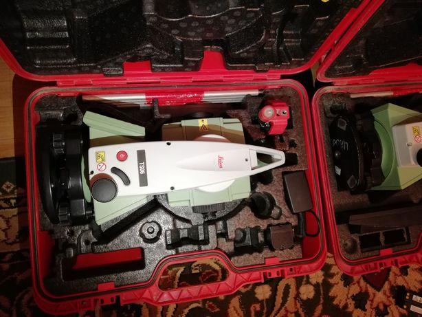 Тахеометр Leica Продам TS 06 ULTRA 5'', без отражательный режим 1000