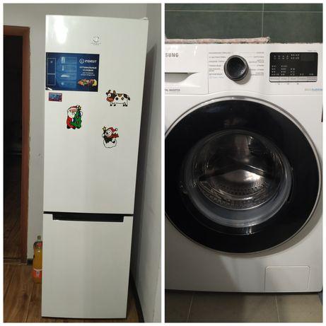 Стиральная машина, холодильник