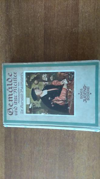 стара от 1921 книга на немски
