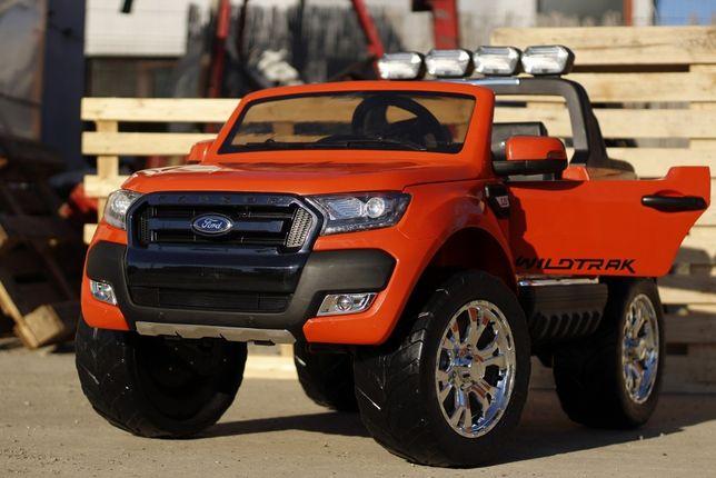 Masinuta electrica pentru 2 copii Ford Ranger 4x4 cu BT, NOUA #Orange