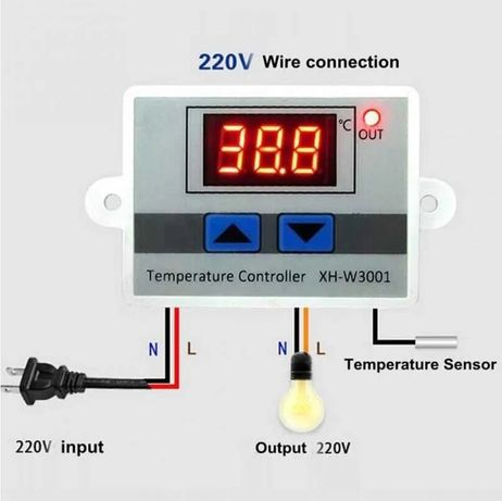 Терморегулатор, Термостат за регулиране на 220v