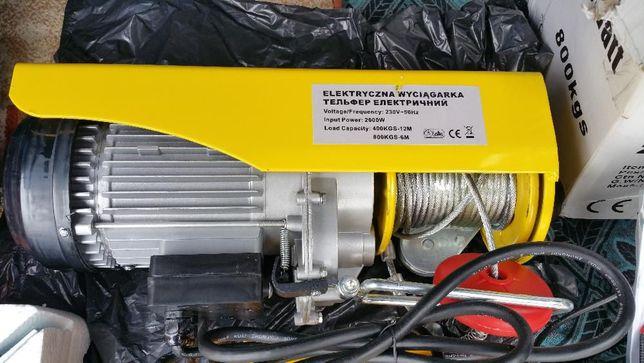 Electropalan-Macara electrica 400/800 kg (constructii,service auto)
