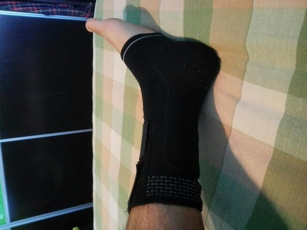 Vand orteza elastica picior