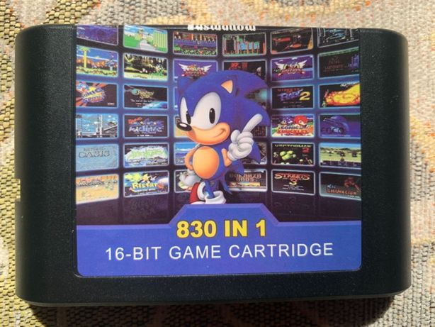 картриджи кассеты для SEGA Mega Drive, Genesis, Master System, 32X