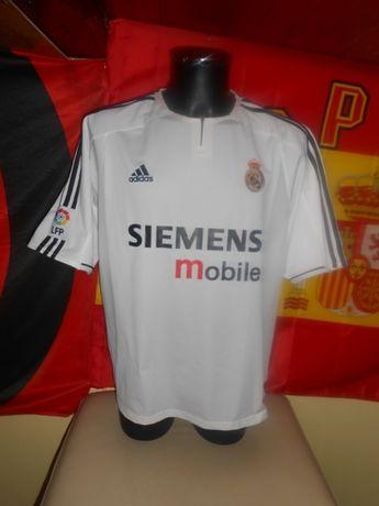 tricou real madrid adidas sezon 2003-2004 home marimea XL