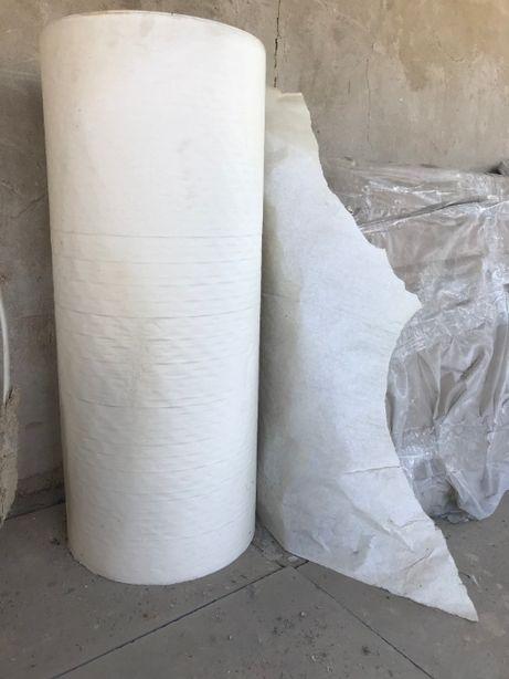 Продам барабан белой оберточной пищевой бумаги, ширина 80 см