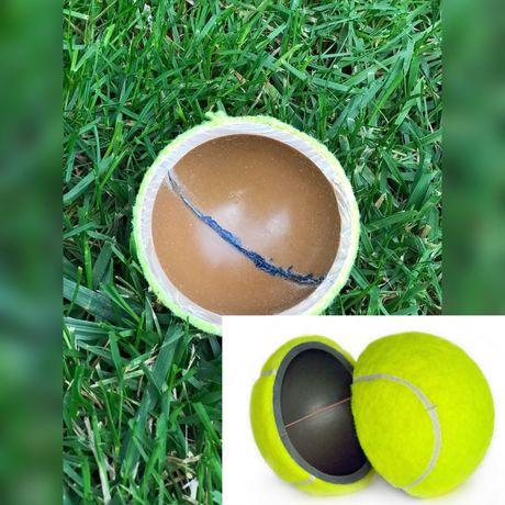 Теннисные мячи, в одной коробке 3 мяча