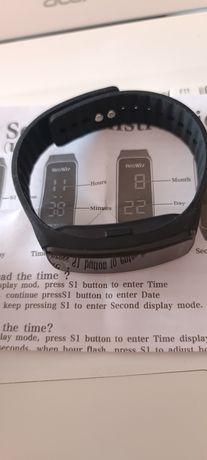 Beswlz унисекс цифров ръчен часовник водоустойчив спортен ча