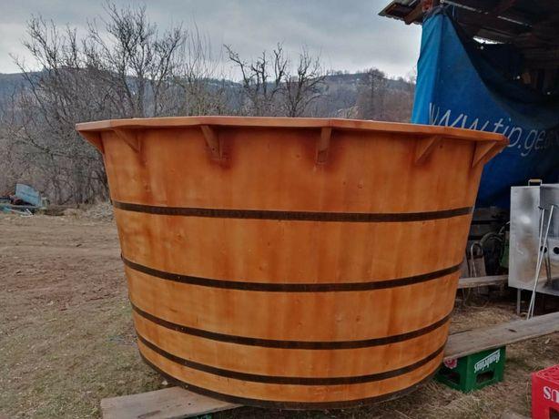 Ciubar hottube din lemn de brad uscat