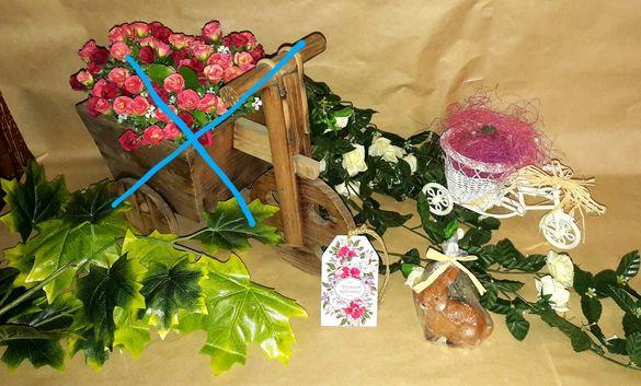 Изкуствени цветя и пролетни декорации