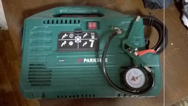 Compresor portabil Parkside