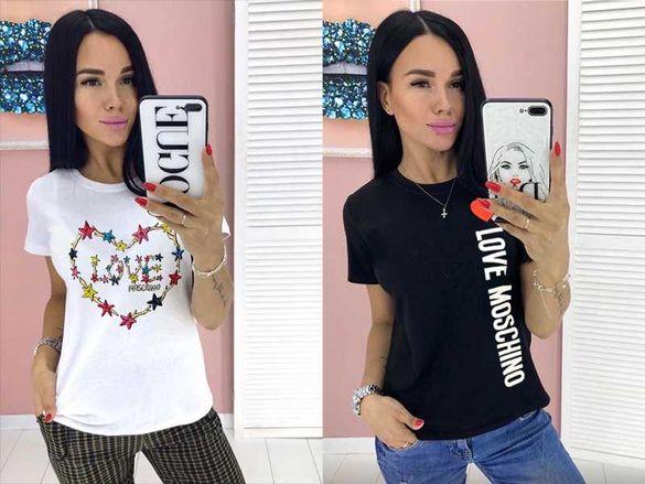 Дамска тениска Love Moschino принт 6 модела